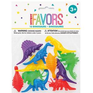 12 mini dinosaures plastiques Bobidibou jouets pinata achat matériel anniversaire enfant France