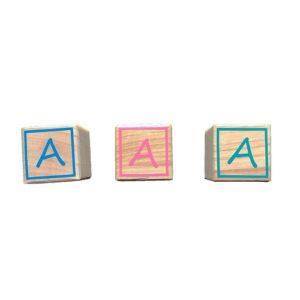 cube en bois lettre couleur Bobidibou anniversaire enfant achat matériel France0