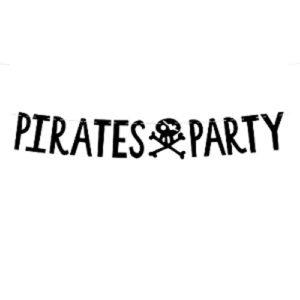 Guirlande Pirate Party 14x100cm achat matériel décoration anniversaire enfant Bobidibou 01 pays de gex France