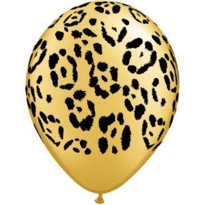 5 ballons latex léopard 30cm achat matériel decoration anniversaire enfant Bobidibou 01 pays de gex France