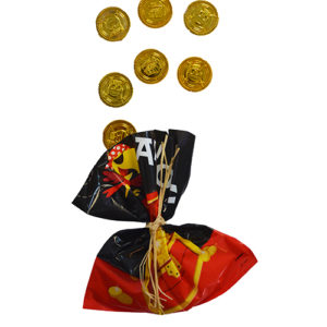 Sachet pièces d'or Pirate Bobidibou achat matériel décoration anniversaire enfant France