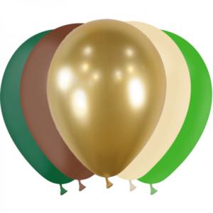 Assortiment ballons nature gold 30 cm Bobidibou anniversaire enfant achat materiel decoration France