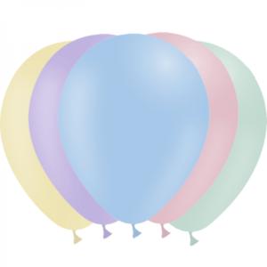 Assortiment ballons pastel 30 cm Bobidibou anniversaire enfant achat materiel decoration France
