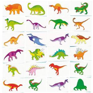 tatouages tatoos dino dinosaures anniversaire enfant bobidibou