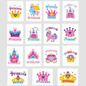 tatouages tatoos princesse anniversaire enfant bobidibou