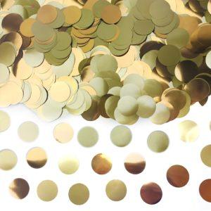 Sachet confettis alu or 15g papier de soie Bobidibou achat matériel décoration anniversaire enfant France