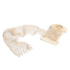 filet de pêche ivoire 20cmx1m Bobidibou anniversaire enfant marin achat matériel décoration