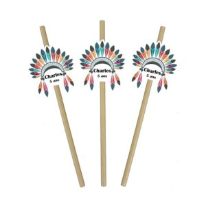 pailles indien Bobidibou achat matériel décoration anniversaire enfant France