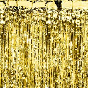 Rideau de fête doré Bobidibou anniversaire enfant achat matériel décoration France