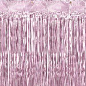 Rideau de fête rose Bobidibou anniversaire enfant achat matériel décoration France