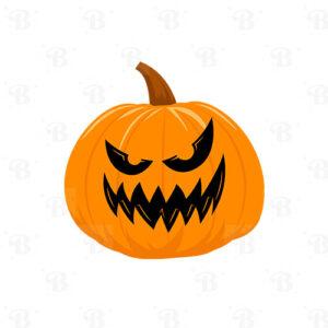 stickers scary citrouille bobidibou enfant fête octobre